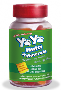 YAYA Multivitamin Minerals - vitamins for children