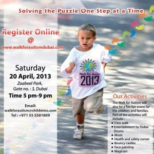The 5th Annual Walk for Autism YaYa multivitamins